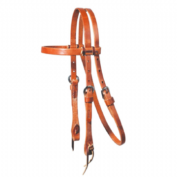 Schutz Brothers Pony Laced Browband Headstall